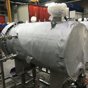 Boiler-insulation