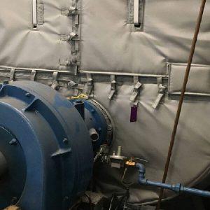 Turbine-insulation